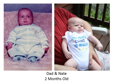 Chad and Nate 2 Months