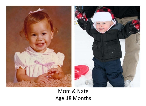 Mom and Nate 18 months