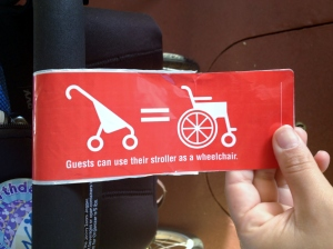 Wheelchair Pass