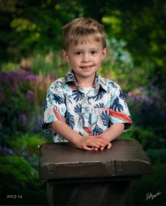 Nate's school photo Spring 2014 (age 4)