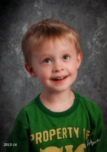 Nate's school picture Fall 2013 (age 4)