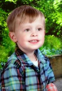 Nate's School Picture 2012-13, age 3